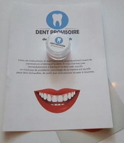 Dent provisoire product